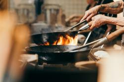 wok pánve