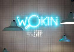 wokin logo neon