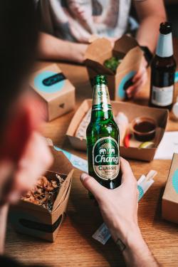 thajské pivo